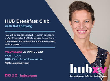HUB Breakfast Club with Kate Strong
